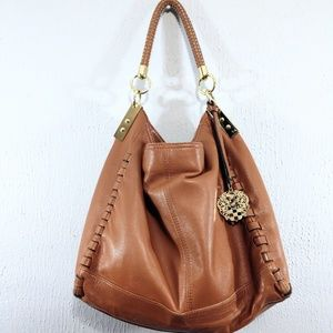 Vince Camuto Kat Leather Hobo Bag